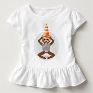 Sloth Be A Unicorn Traffic Cone Toddler T-shirt