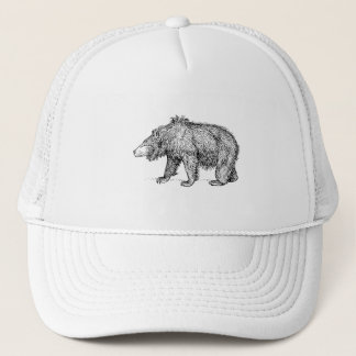 Sloth Bear Trucker Hat