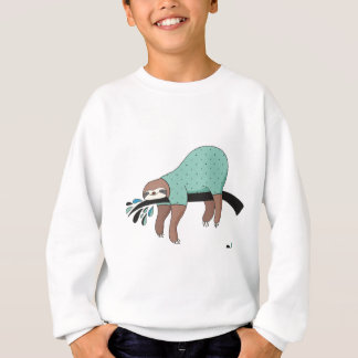 Sloth being lazy sweatshirt
