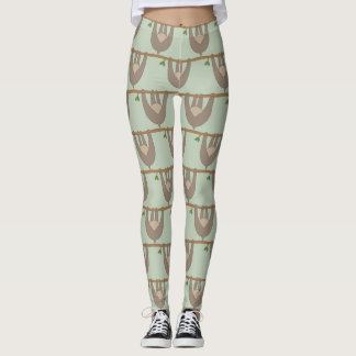 Sloth Butt Hanging Sloth Leggings