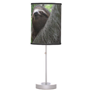 Sloth Climbing Tree Table Lamp