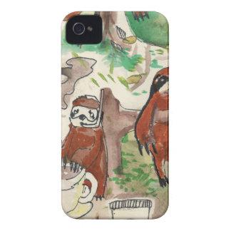 sloth coffee iPhone 4 cases