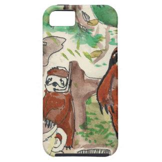 sloth coffee iPhone 5 cases