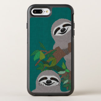 Sloth Custom OtterBox Apple iPhone 7 Plus Case