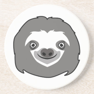 Sloth Face Coaster