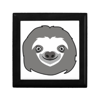 Sloth Face Gift Box