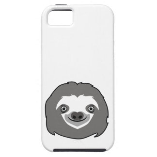 Sloth Face iPhone 5 Cases