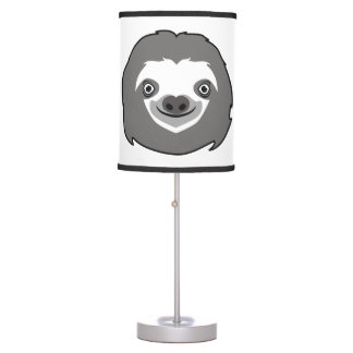 Sloth Face Table Lamp