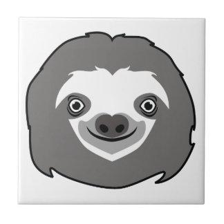 Sloth Face Tile