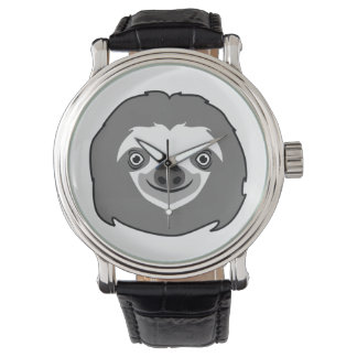 Sloth Face Watch