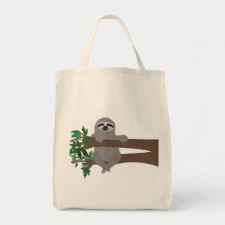 Sloth Grocery Tote