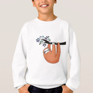 Sloth hang in there sweatshirt