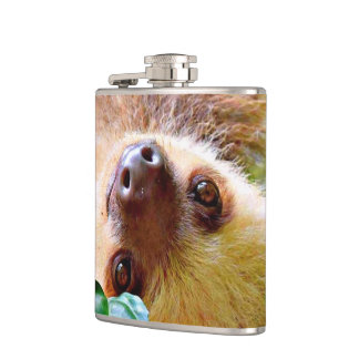 Sloth Hip Flask
