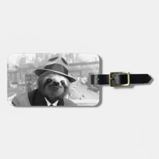 Sloth in New York Luggage Tag