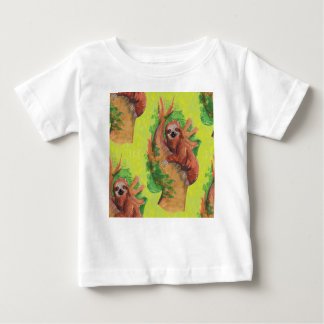 sloth in the tree baby T-Shirt
