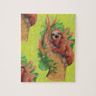 sloth in the tree jigsaw puzzle