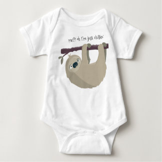 Sloth 'Just Chillin' Infant Creeper
