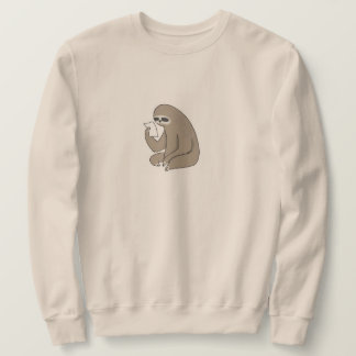 Sloth Men's Basic Sweatshirt