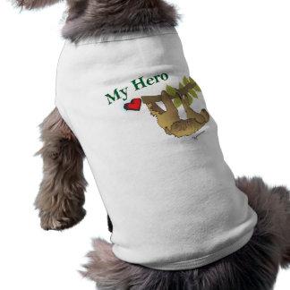 SLOTH- My Hero Doggie Tee Shirt