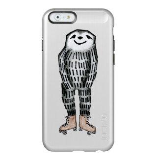 Sloth on Roller Skates Incipio Feather® Shine iPhone 6 Case