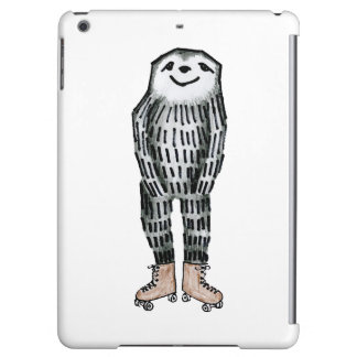 Sloth on Roller Skates iPad Air Cover