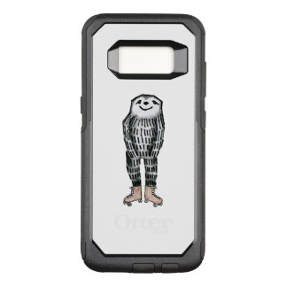 Sloth on Roller Skates OtterBox Commuter Samsung Galaxy S8 Case