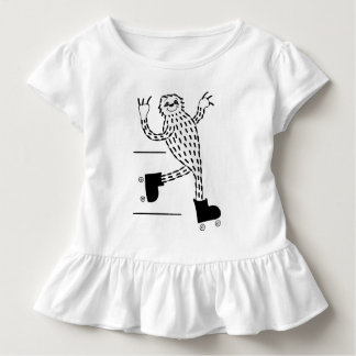 Sloth on Roller Skates Toddler T-shirt
