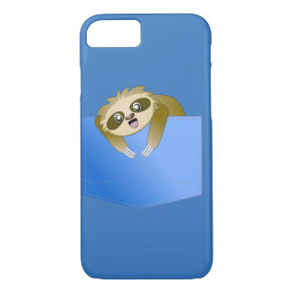 Sloth Pocket Pal iPhone 7 Case