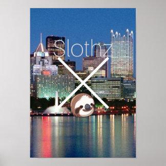 Sloth Poster