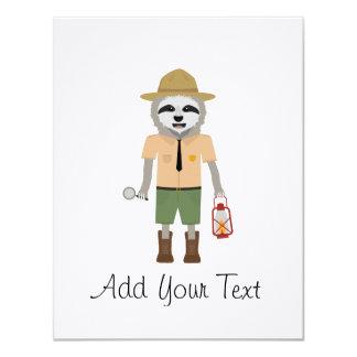 Sloth Ranger with lamp Z2sdz Card