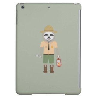 Sloth Ranger with lamp Z2sdz iPad Air Cover