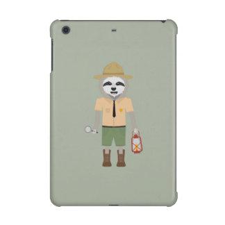 Sloth Ranger with lamp Z2sdz iPad Mini Retina Cover