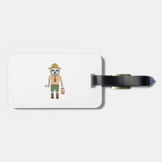 Sloth Ranger with lamp Z2sdz Luggage Tag