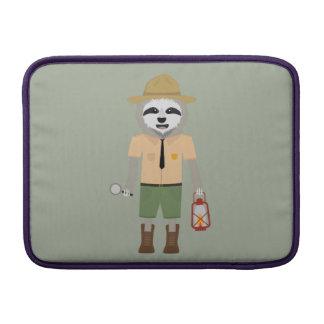 Sloth Ranger with lamp Z2sdz MacBook Sleeve