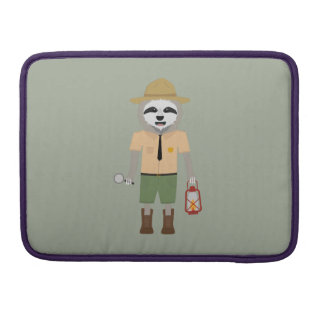 Sloth Ranger with lamp Z2sdz Sleeve For MacBook Pro