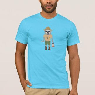 Sloth Ranger with lamp Z2sdz T-Shirt