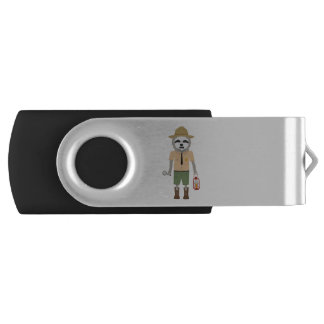 Sloth Ranger with lamp Z2sdz USB Flash Drive