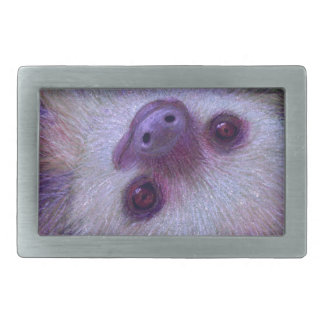 Sloth Rectangular Belt Buckles