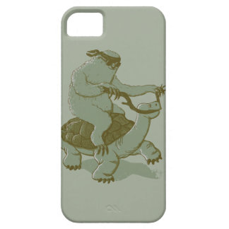 Sloth Riding a Turtle iPhone 5 Case