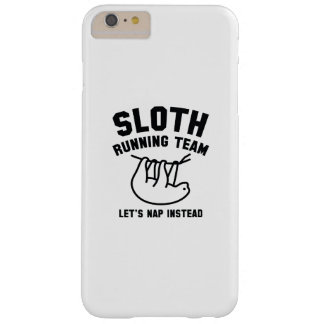Sloth Running Team Barely There iPhone 6 Plus Case