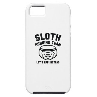 Sloth Running Team iPhone 5 Cover