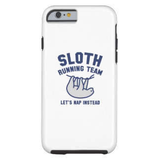 Sloth Running Team Tough iPhone 6 Case