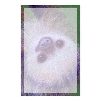 Sloth Stationery