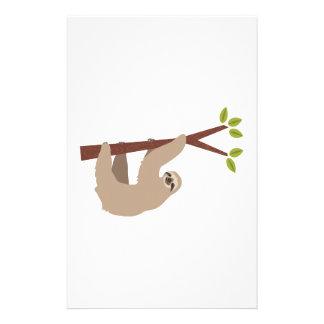 Sloth Stationery Paper