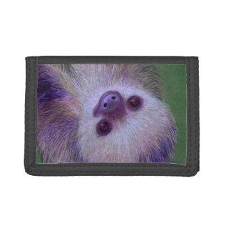 Sloth Tri-fold Wallets