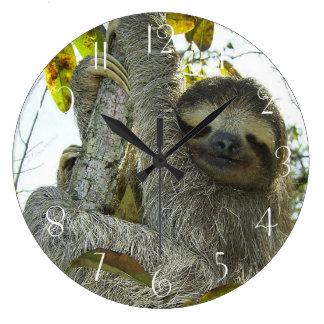 Sloth Up A Tree Clocks