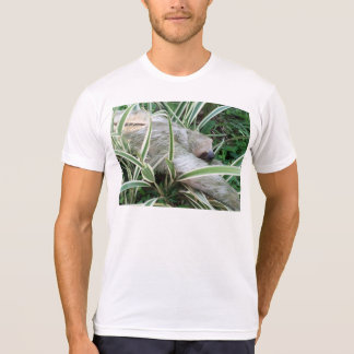 sloth with back slogan T-Shirt