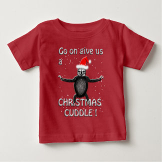 slothie wants a christmas cuddle baby T-Shirt