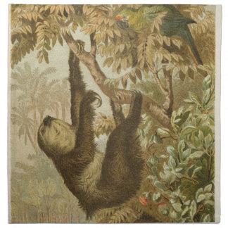 Sloths are Super Napkin