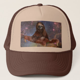Sloths in Space Trucker Trucker Hat